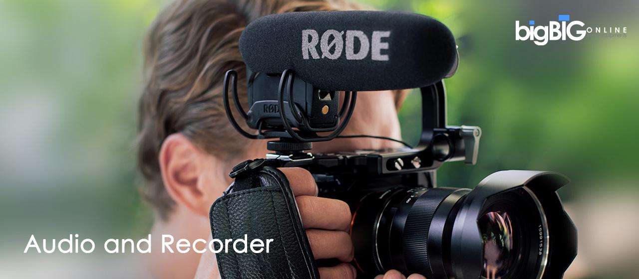 Audio and Recording