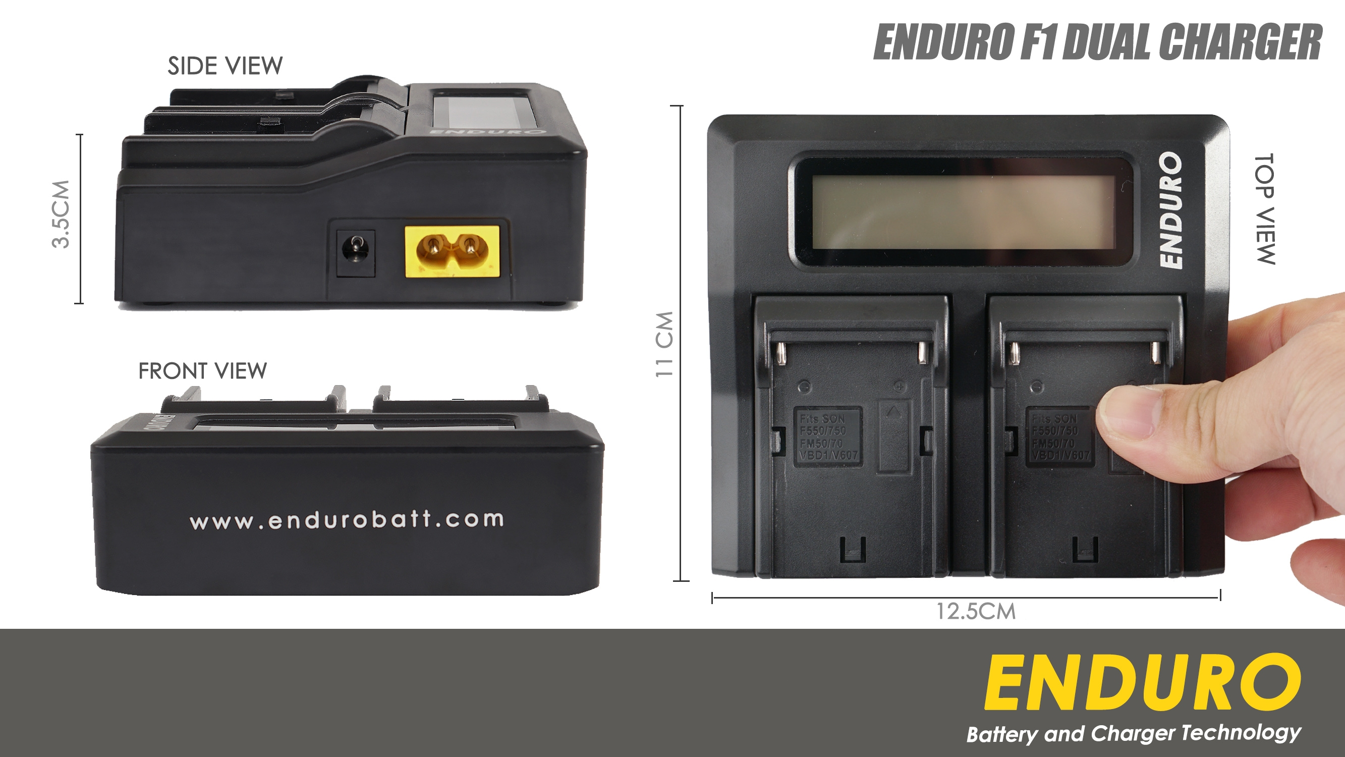 Enduro F1 Fast Dual Charger