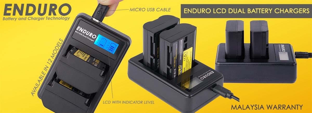 Enduro LCD DUAL charger