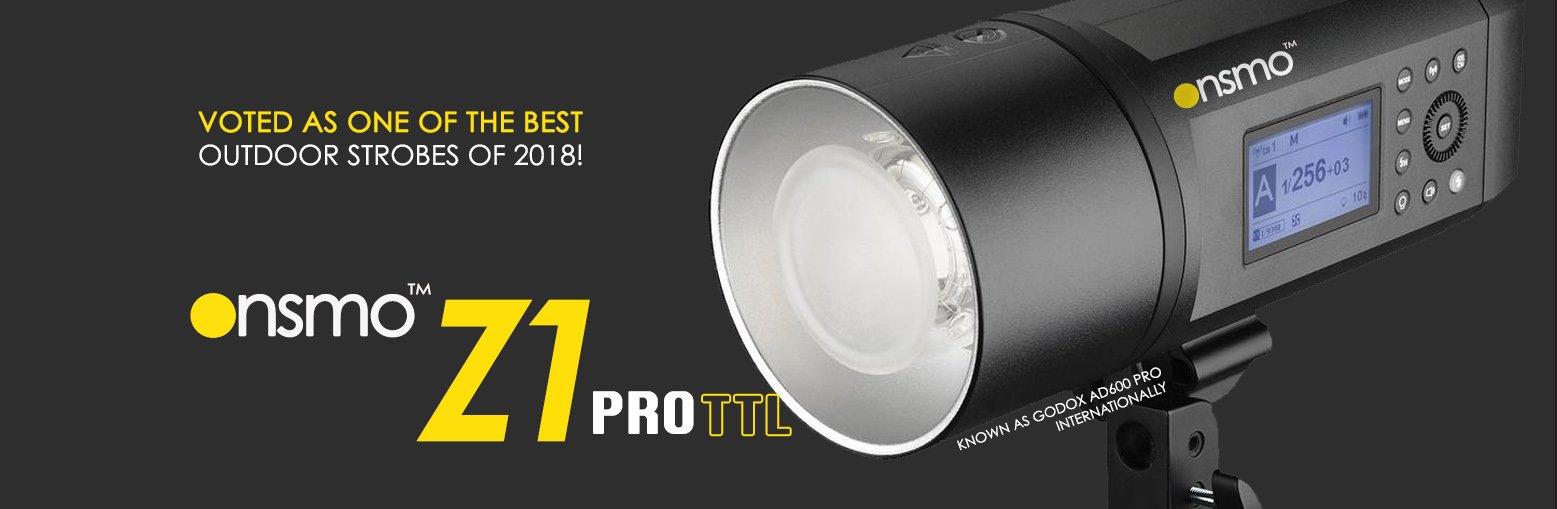 Onsmo Z1 pro, Godox ad600 pro